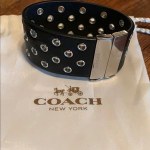 COACH | leather bracelet